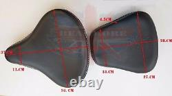 Separate Duel Seats Seat Black For Royal Enfield Electra Bullet Std Harley