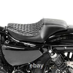 Solo Seat for Harley Davidson Sportster 04-20 Driver Seat Craftride HS2
