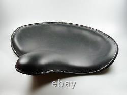 Solo Sitz Bobber WLC Style, Echtleder schwarz, für Harley Davidson