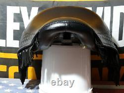 Super Rare! 2000-2003 FLSTS Heritage Springer Rider Seat WITH FRINGE! LIKE NEW