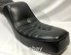 Vintage Chopper King And Queen Step Up 2up Seat Harley Honda Yamaha Triumph Hd