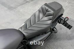 ZERO HOUR Step-Up Seat 2004-2021 Harley Sportster XL 3.3 Gallon Tank